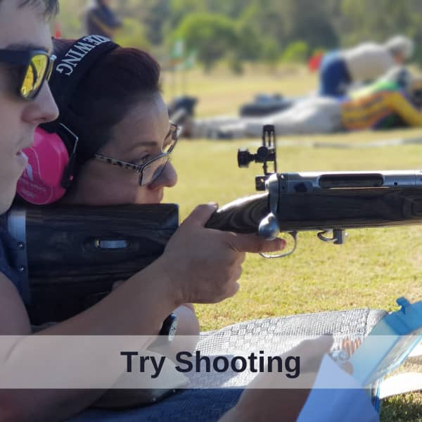 try shooting